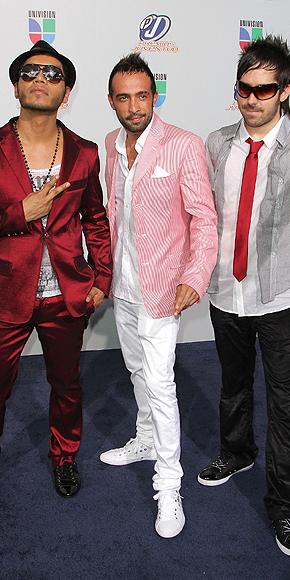 Camila, Mario Domm, Samo, Peor vestidos 2010