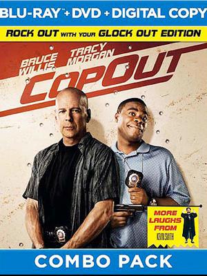 CopOut en combo Blu-Ray/DVD