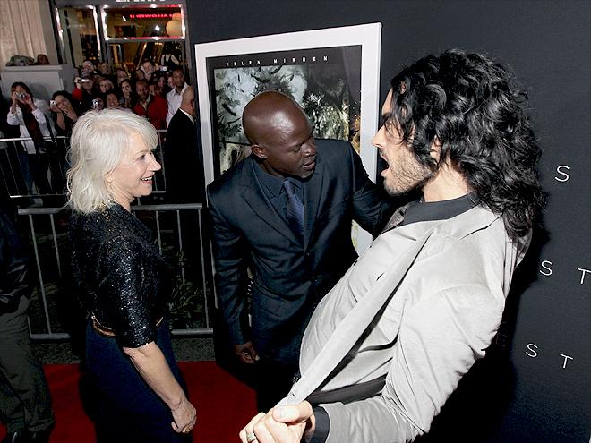 Helen Mirren, Russell Brand, Djimon Hounsou