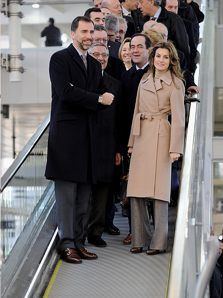 Principe Felipe y Letizia Ortiz