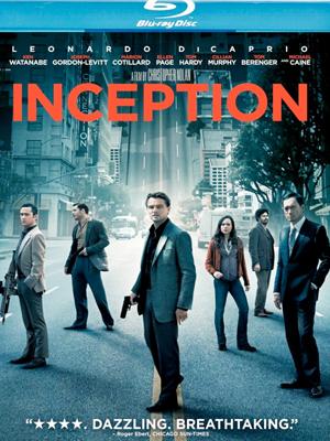Inception en Blu-Ray y DVD