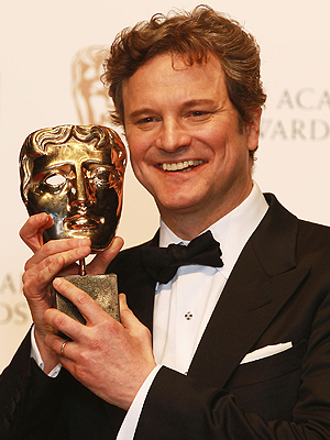"Colin Firth gana como Mejor Actor en los BAFTA por ""The King's Speech"""