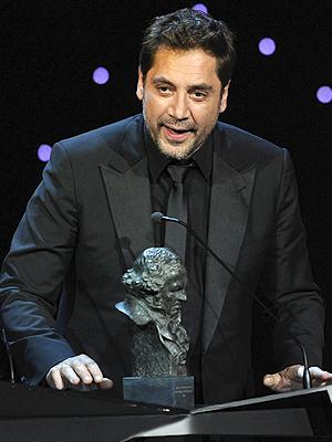 Javier Bardem, Goya 2011