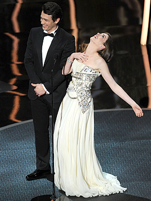 James Franco,Anne Hathaway