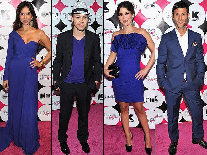 Prince Royce, Giselle Blondet, Quique Usales, Adriana Castro, Tendencias alfombra Bellos 2011