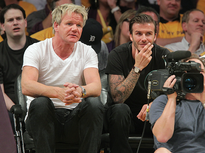 David Beckham, Gordon Ramsey
