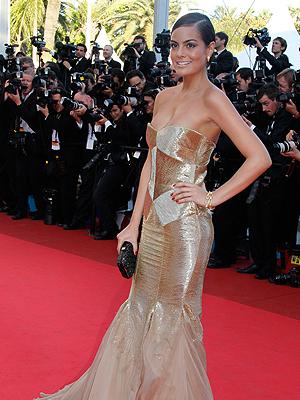 Ximena Navarrete en Cannes