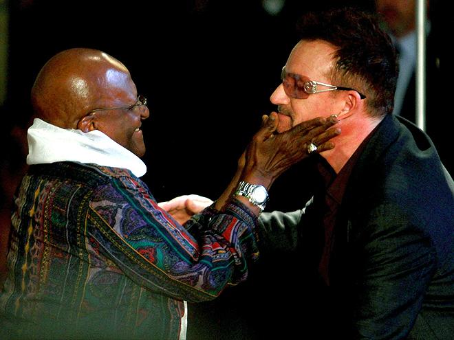 Bono, Desmond Tutu
