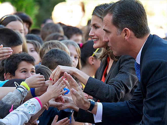 Letizia Ortiz, Princesa Letizia, Príncipe Felipe de España, Felipe de Borbón