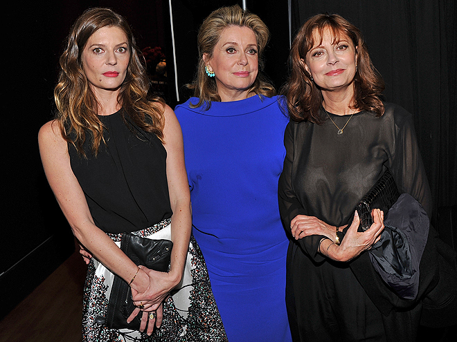 Chiara Mastroiani, Catherine Deneuve, Susan Sarandon