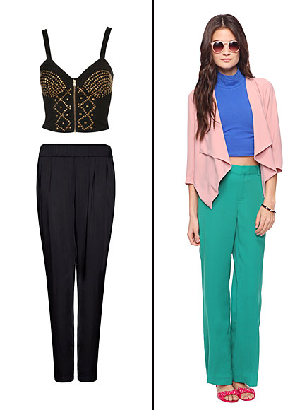 Cropped Tops, Tendencia