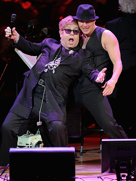 Channing Tatum, Elton John