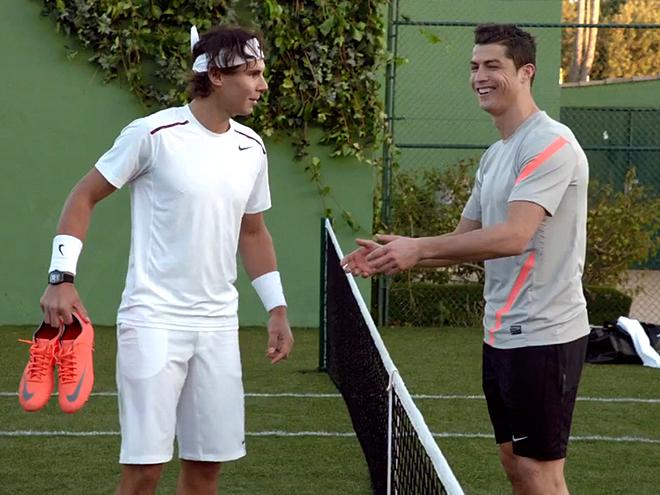 Rafael Nadal, Cristiano Ronaldo