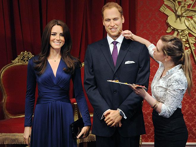 Príncipe William, Kate Middleton, Figuras de cera