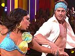William Levy y Cheryl Burke bailan salsa