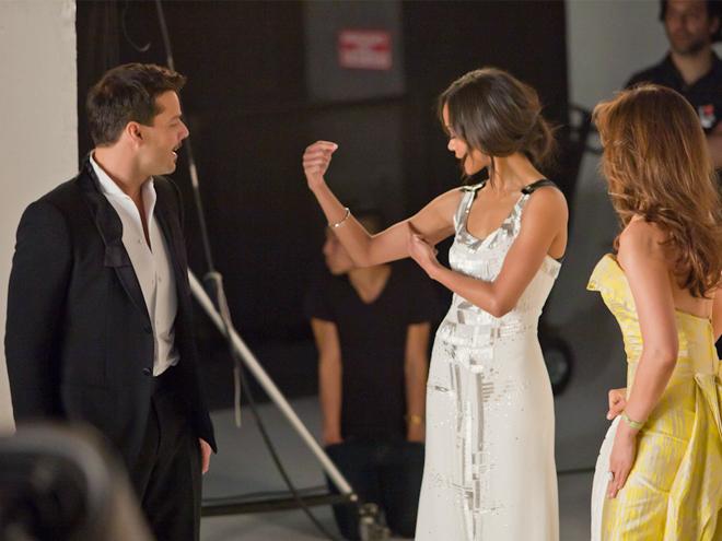 Behind the scenes, Bellas 2012