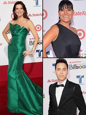 Mejor vestidos en los Latin Billboards 2012