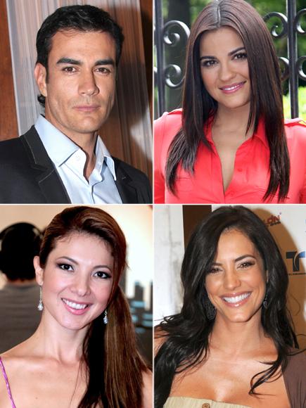 David Zepeda, Maite Perroni, Priscila Ángel, Gaby Espino