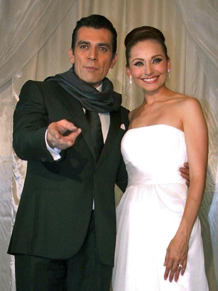 Jorge Salinas, Elizabeth Álvarez