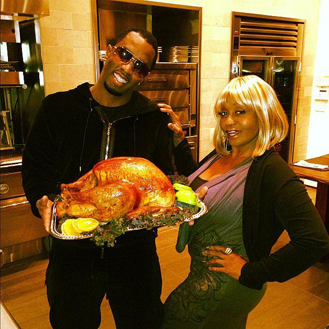 Acción de Gracias, Thanksgiving, Diddy, Míralos