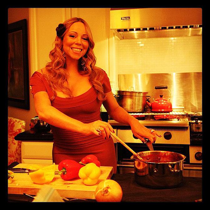 Acción de Gracias, Thanksgiving, Mariah Carey, Míralos
