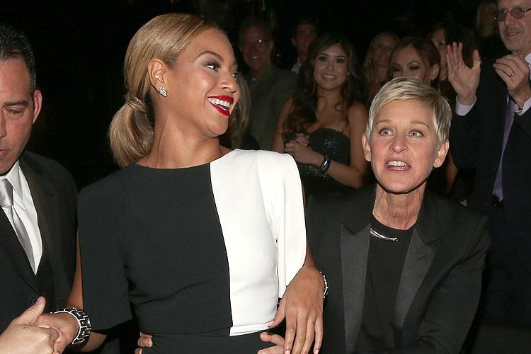 Beyoncé, Ellen DeGeneres, Grammy 2013