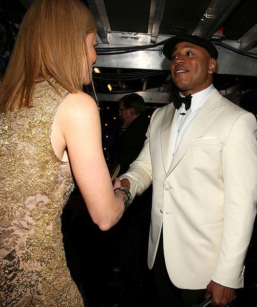 Nicole Kidman, LL Cool J, Grammy 2013