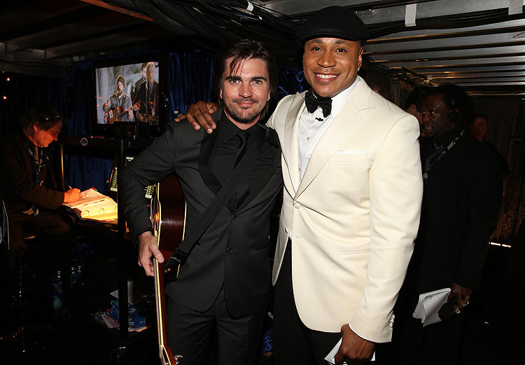 Juanes, LL Cool J, Grammy 2013
