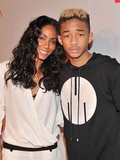 Jada Pinkett Smith y Jaden Smith