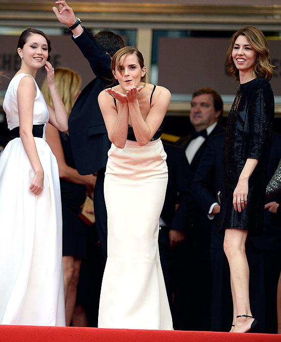 Katie Chang, Emma Watson, Sophia Coppola