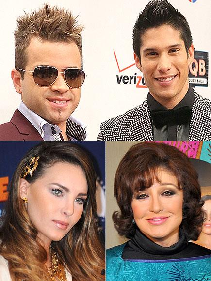 Belinda, Chino y Nacho, Angélica María, Factor X