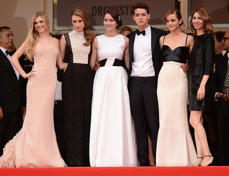 Claire Julien, Taissa Fariga, Katie Chang, Israel Broussard, Emma Watson, Sophia Coppola
