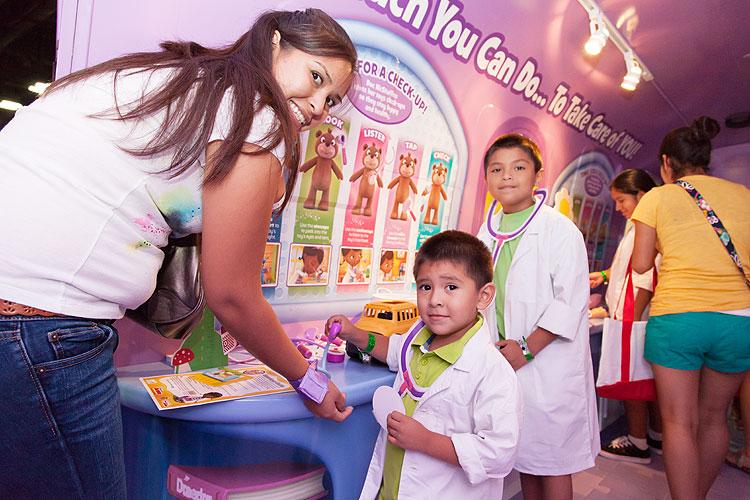 Disney Jr., galería sponsors