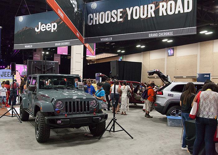 Jeep, galería sponsors
