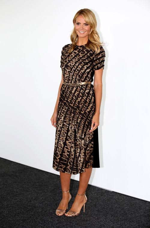 Heidi Klum, El look del día