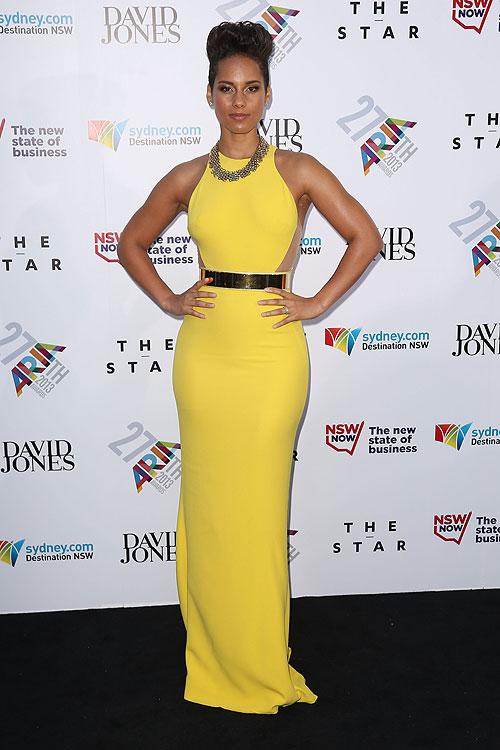 Alicia Keys, El look del día