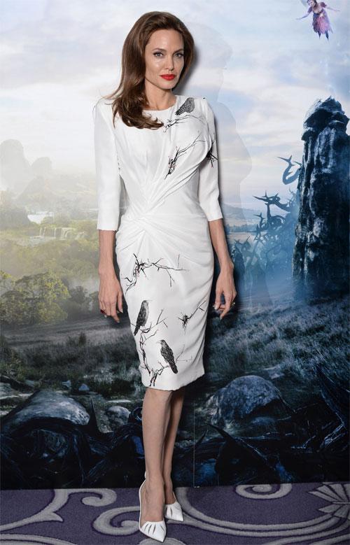 Angelina Jolie, El look del día