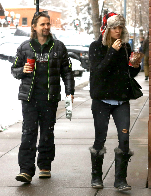 KATE HUDSON Y MATTHEW BELLAMY