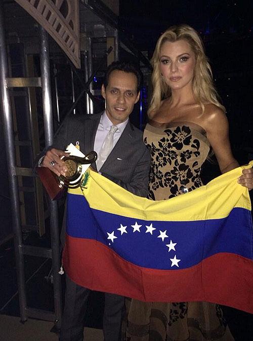 MARC ANTHONY Y MARJORIE DE SOUSA, Sin filtro, Venezuela