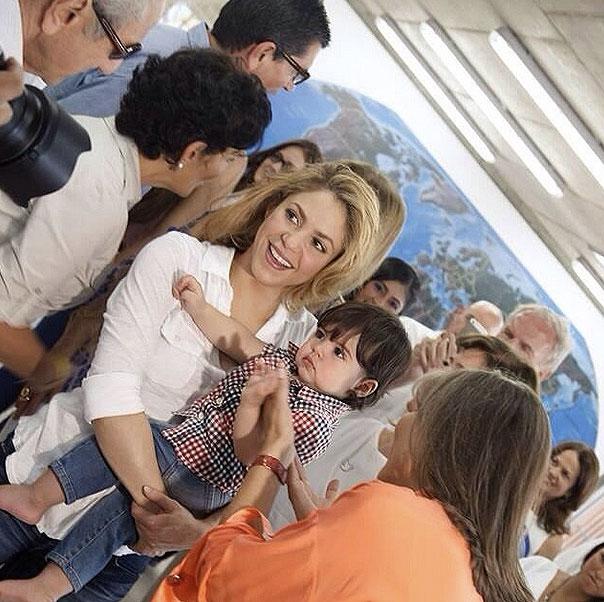 Milan, Shakira