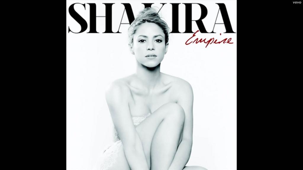 """Shakira, """"Empire"""", nuevo sencillo"""