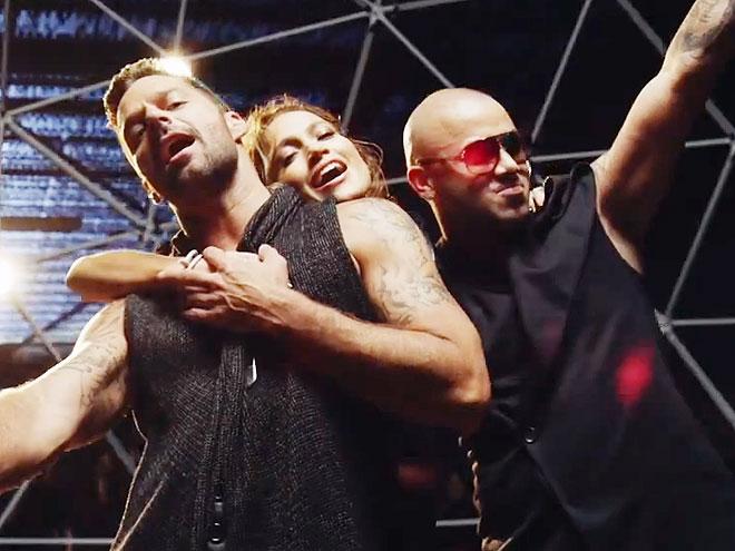 Wisin, Jennifer López, Ricky Martin