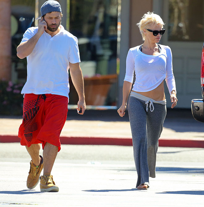 Pamela Anderson, Rick Salomon, Míralos