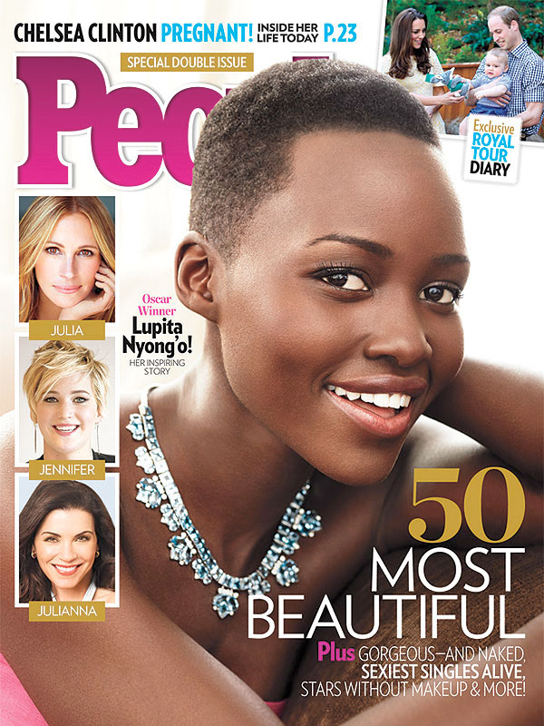Lupita Nyong'o, en la portada de la revista People