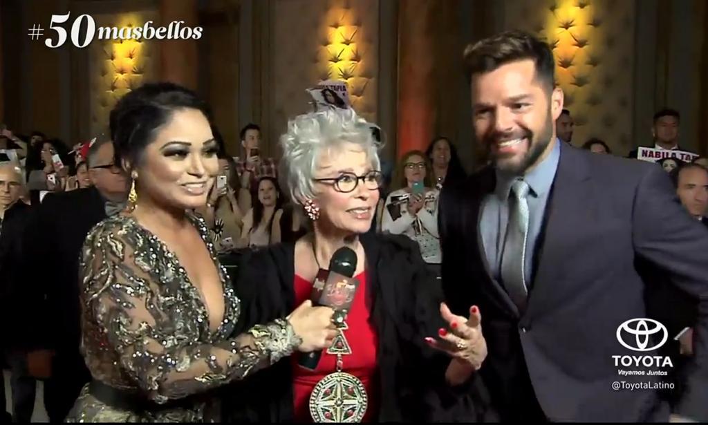 Ricky Martin, Rita Moreno, Isis Sauceda