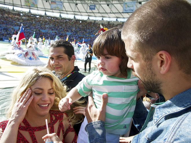 Shakira, Milan, Gerard Piqué