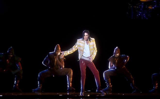 Holograma de Michael Jackson en los premios Billboard