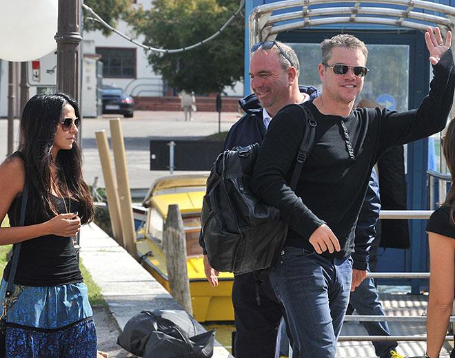 Matt Damon, Luciana Barroso, Míralos