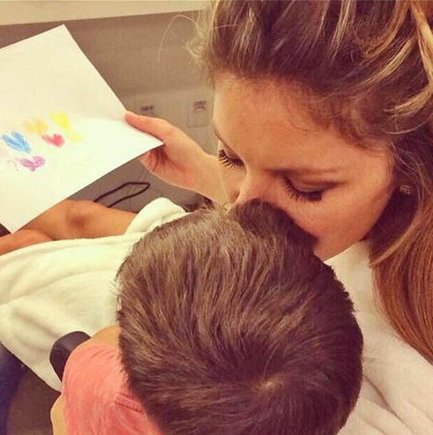 Gisele Bündchen, bebes en instagram