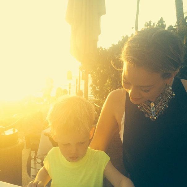 Hilary Duff, Bebes en instagram,